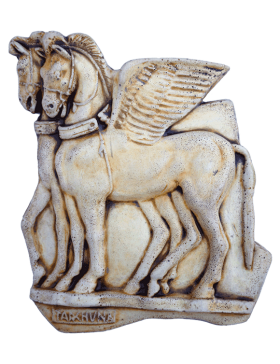 WINGED HORSES FROM TARQUINIA