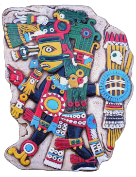 TEZCATLIPOCA (Painted)