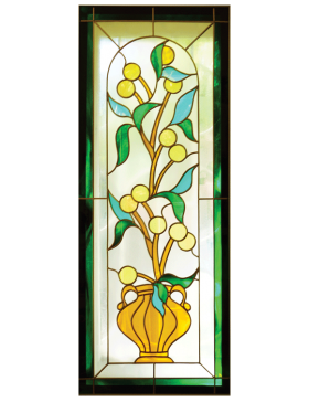 LEMON TREE, STAINED GLASS